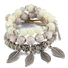 Vintage Boho Multilayer Beads Charm Bracelets for Women
