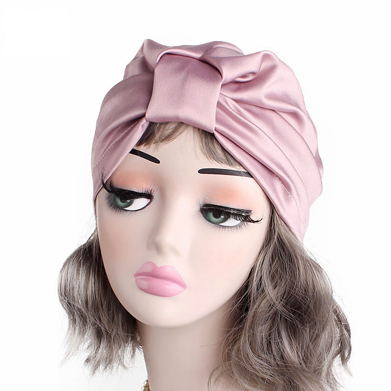 New Bohemian style turban hat cotton floral print head wrap Headband Chemo Cap Sleep Hat Turbante Ladies Bonnet Cap