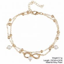 Anklet bracelet – boho vintage antique Silver/Gold color anklet