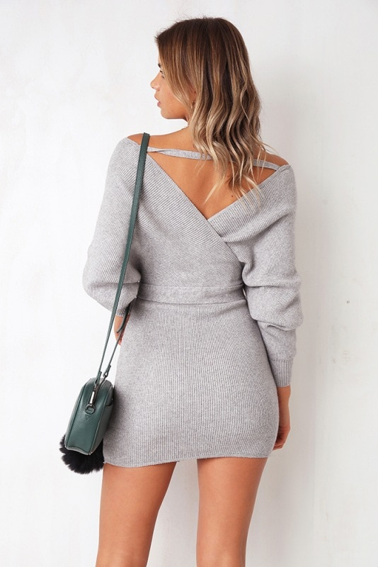 long sleeve sexy sweater